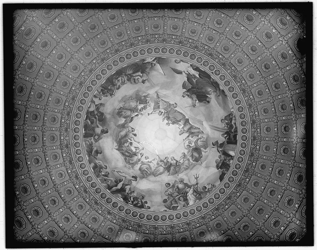 [Apotheosis of Washinggton, fresco in the canopy of the dome, Rotunda of The United States Capitol]