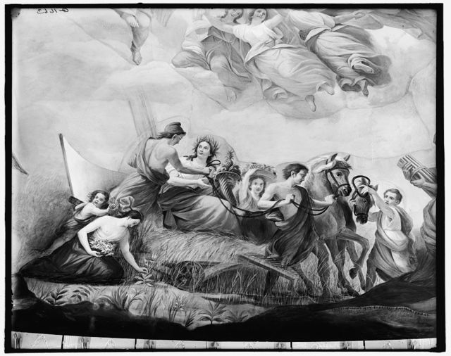 [Apotheosis of Washington. Agriculture detail]
