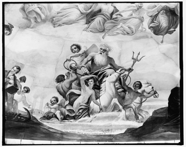 [Apotheosis of Washington. Marine detail]