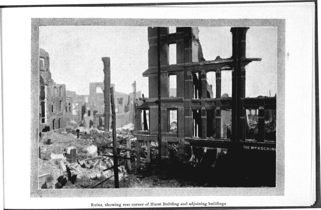 Baltimore : the book of the fire : a word picture and a series of illustrations showing the progress of the great conflagration and its disastrous results.