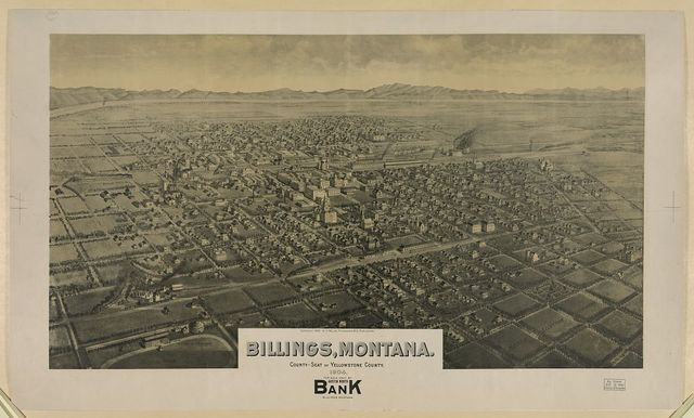 Billings, Montana. County-seat of Yellowstone County. 1904