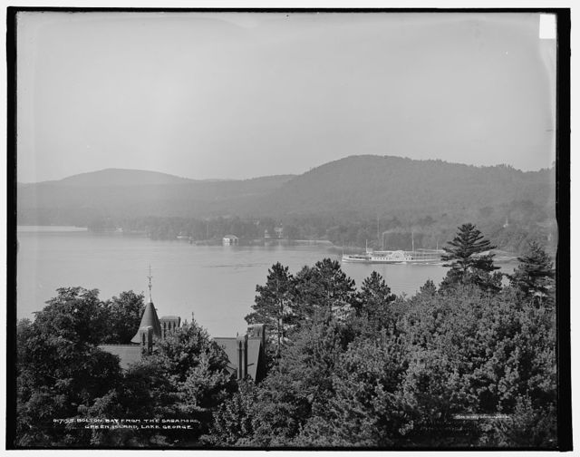 Bolton Bay from the Sagamore, Green Island, Lake George