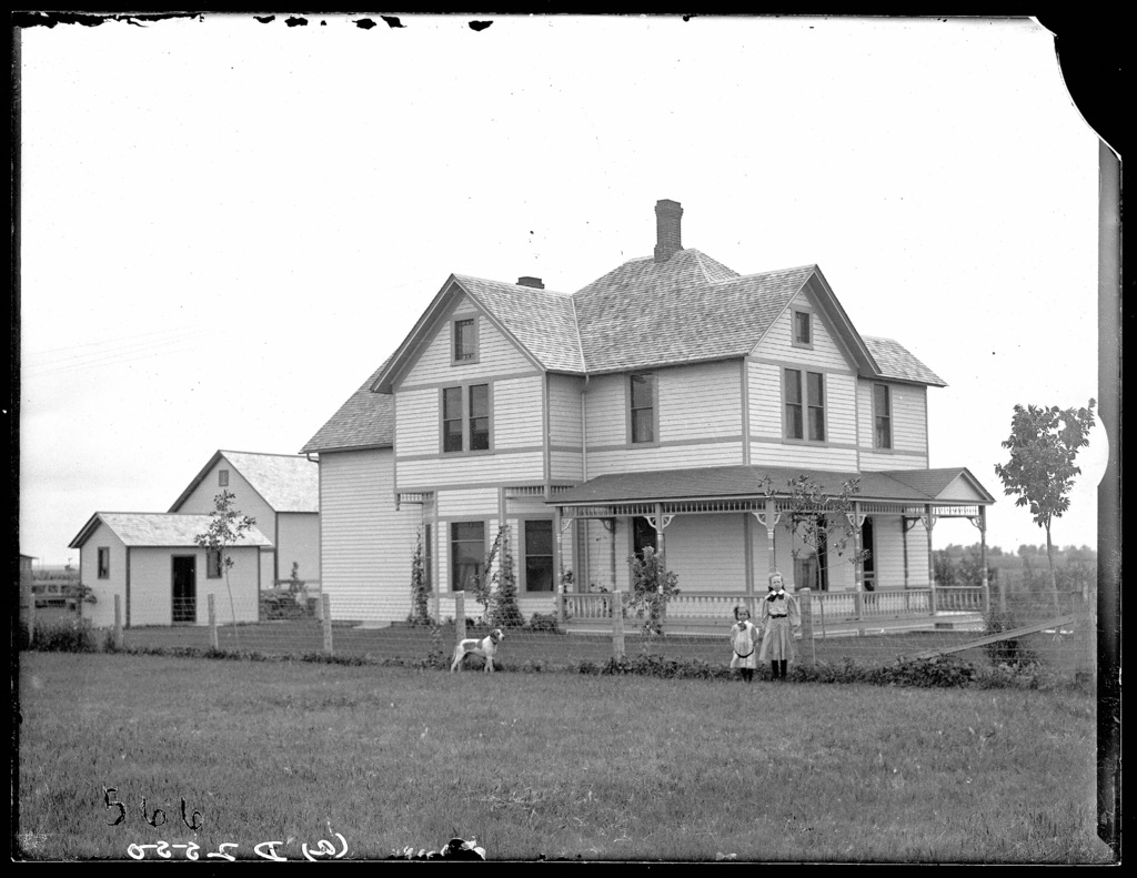 Boughett house, Overton, Dawson County, Nebraska
