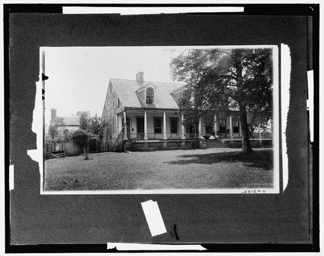 [Briars, where Jefferson Davis was married]