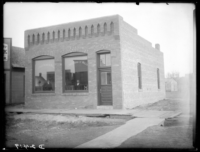 Brown's Bank at Miller, Buffalo County, Nebraska