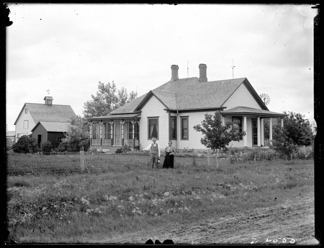 B.T. Cheeney house in Overton, Nebraska.