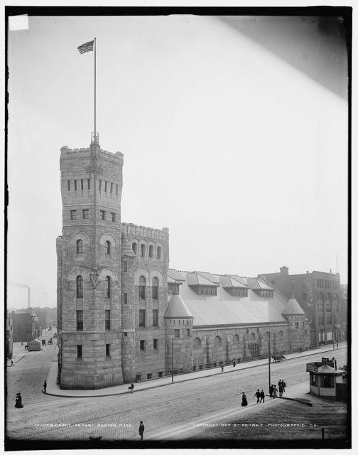 Cadet Armory, Boston, Mass.