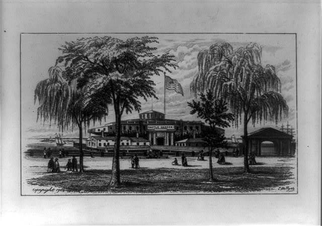 Castle Garden, 1852
