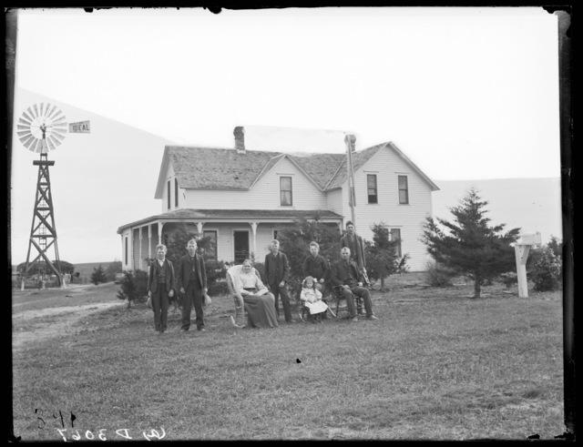 Charles Blakeman farmhouse