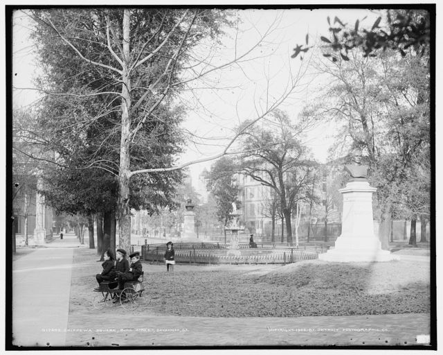 Chippewa Square, Bull Street, Savannah, Ga.