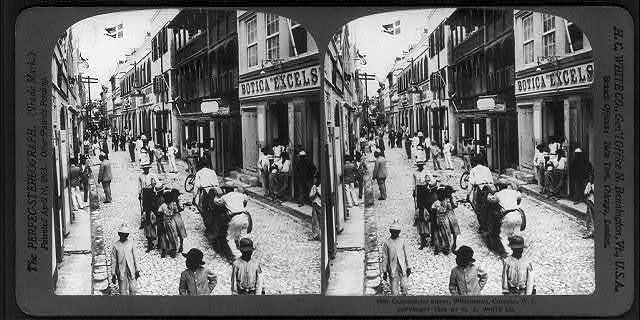 Commercial Street, Willemstad, Curaçao, W.I.