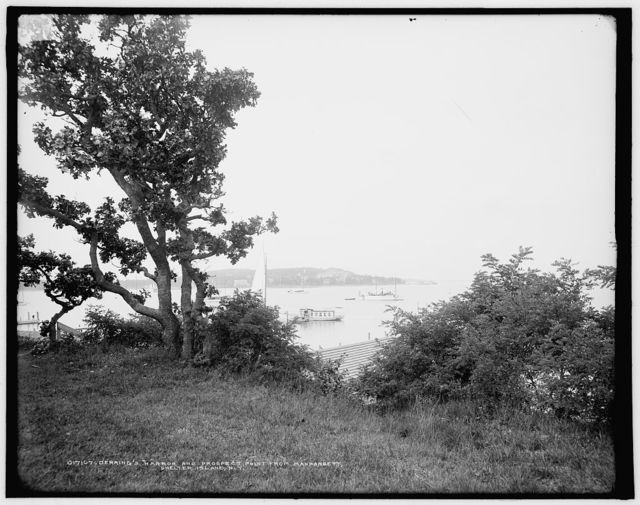 Derring's harbor and Prospect Point from Manhansett [i.e. Manhasset], Shelter Island, N.Y.