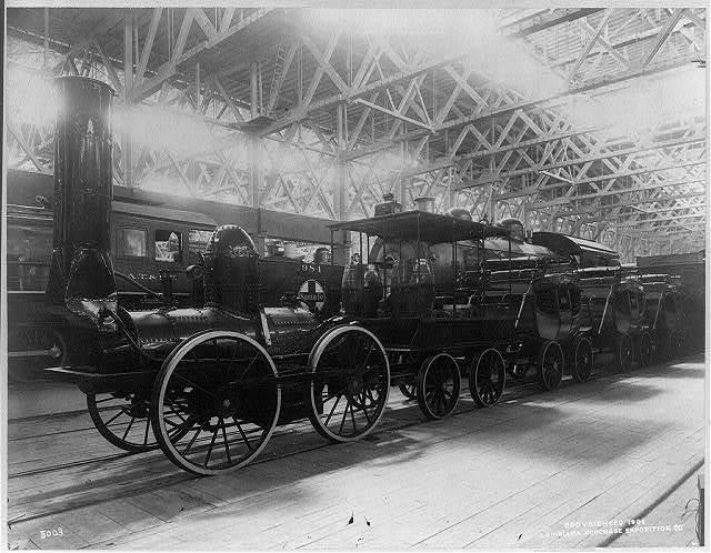 DeWitt Clinton railway train