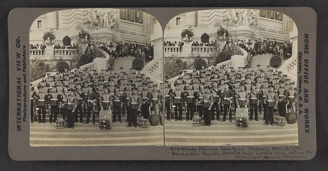 England's famous national military band, the Grenadier Guards, Federal Hall, World's Fair, St. Louis, Mo.