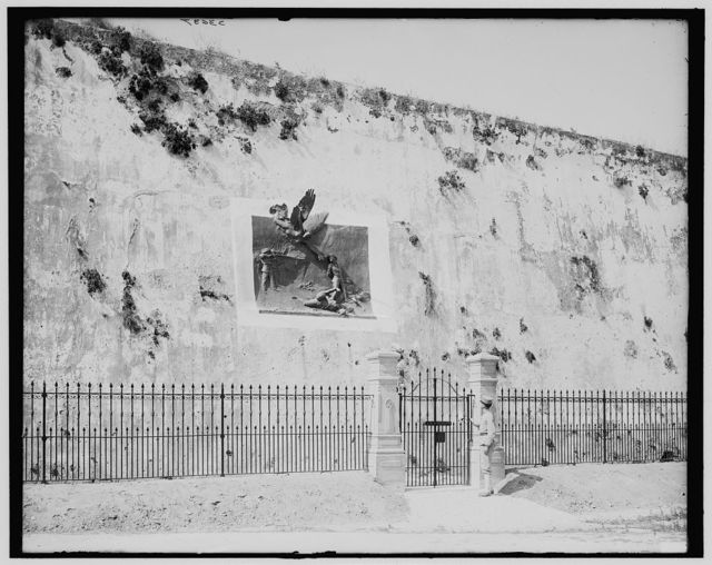 [Execution wall in Cabanas, Havana, Cuba]