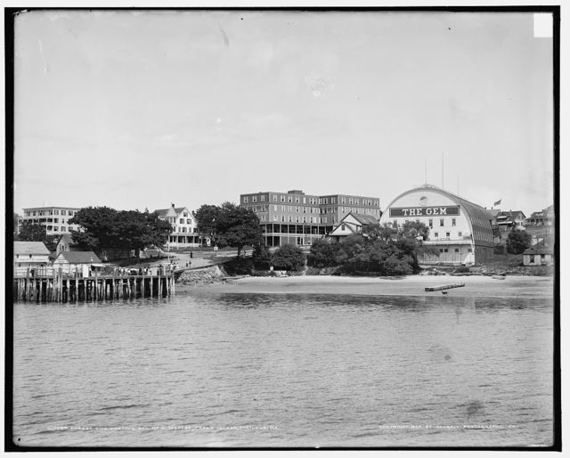 [Forest City Landing and Gem Theatre, Peaks Island, Portland, Me.]