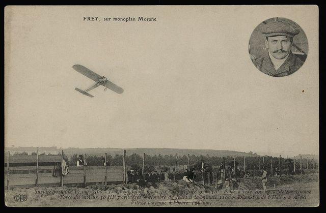 Frey, sur monoplan Morane