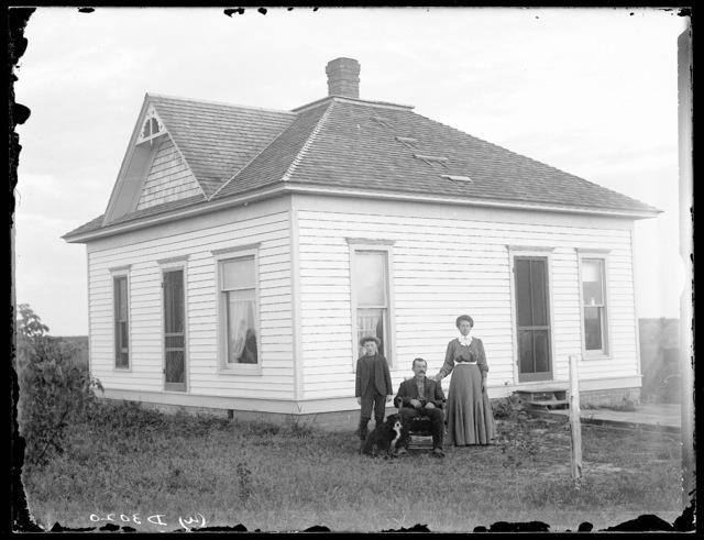 G.A. Spade home in Dawson County, Nebraska.