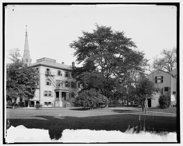 Gymnasium and Fay House, Radcliffe College