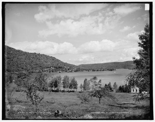 Heart bay, Lake George