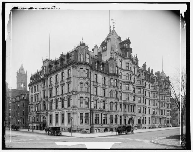 Hotel Vendome, Boston, Mass.