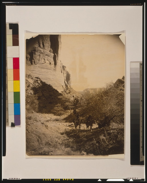 In the canyon's depth--Navaho