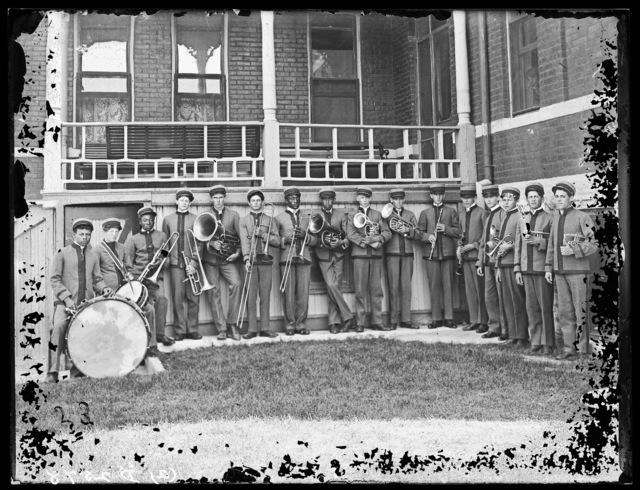 Industrial School Band, Kearney, Nebraska.