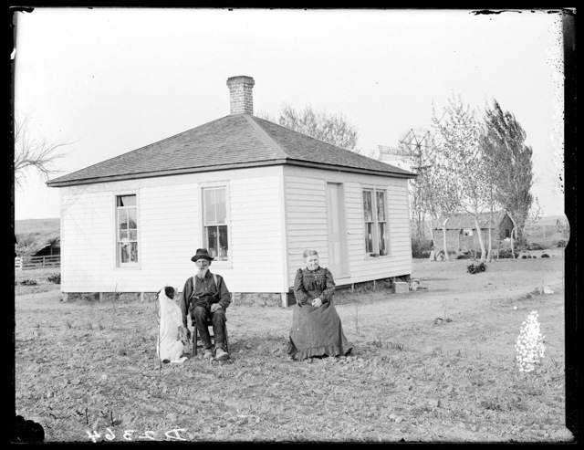 J.F. Halsey and wife, West Union, Nebraska.