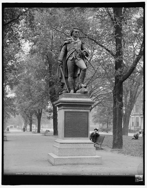 John Glover statue, Boston, Mass.