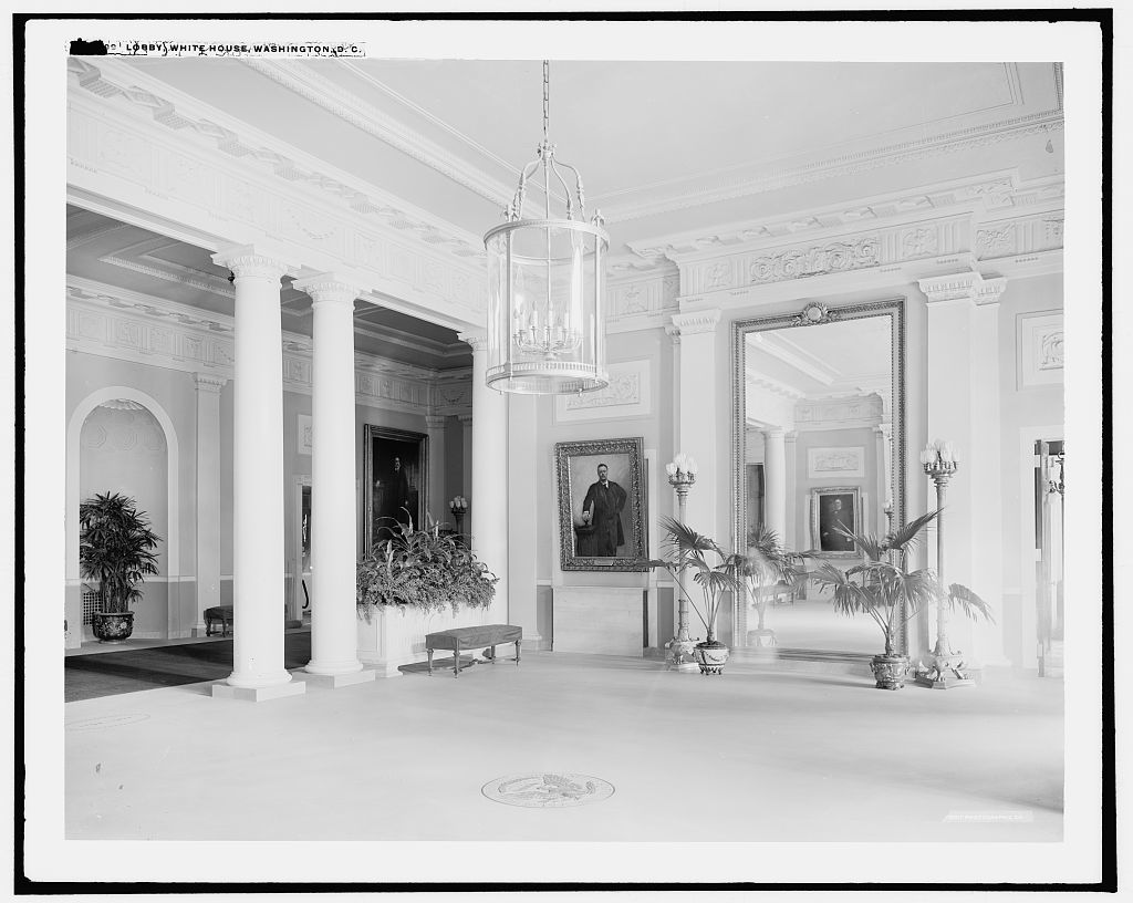 Lobby, White House, Washington, D.C.