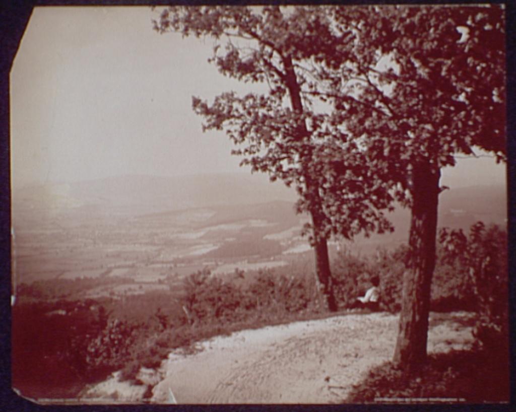 Looking north from Brinkwood, near Pen Mar Park