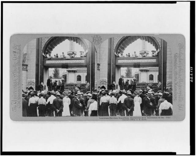 Louisiana Purchase Exposition. Mysterious Asia. Exhibition on the Pike