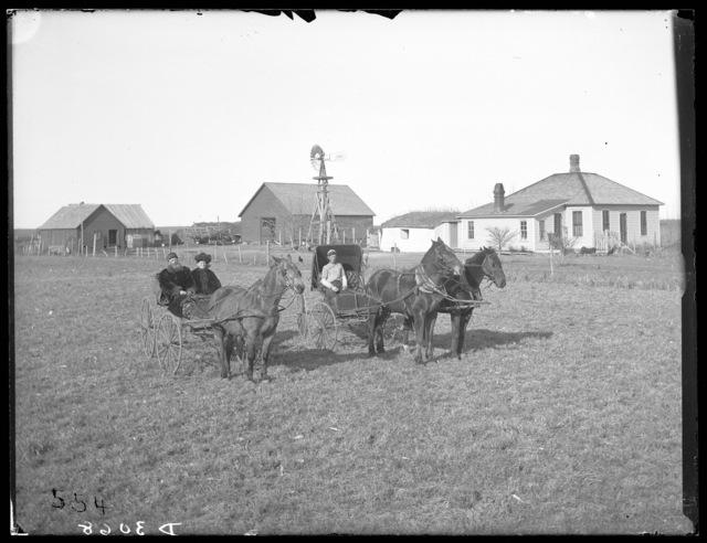 N.D. Christensen farm, Dawson County, Nebraska.