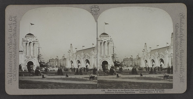 New York to the North Pole and Transportation Buildings, Louisiana Purchase Exposition