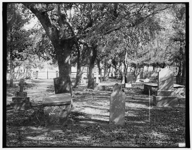 Old Huguenot Cemetery, St. Augustine, Fla.