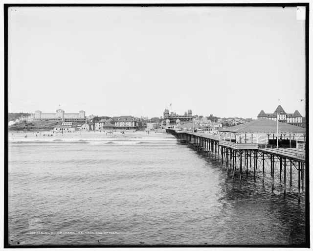 Old Orchard, Me., from end of pier