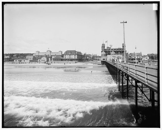 Old Orchard, Me., from pier