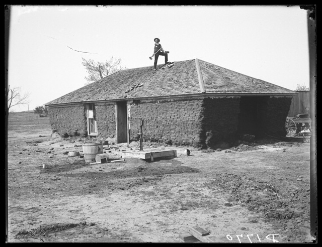 Old Reyner property, Broken Bow, Nebraska.