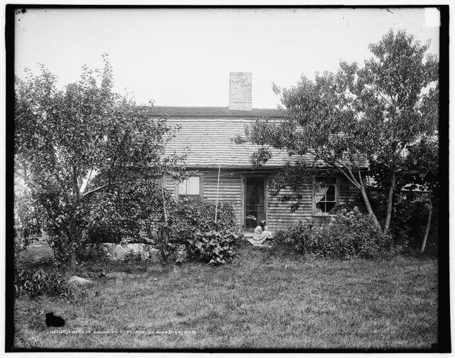 Oldest house on Cape Ann, Gloucester, Mass.