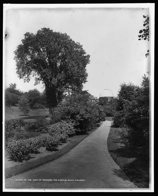 On the path to paradise, the campus, Smith College