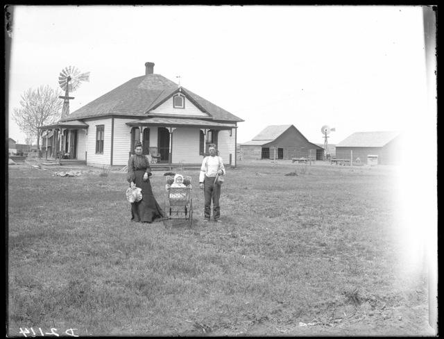 O.S. Pulliam, one mile west of West Union, Custer County, Nebraska.