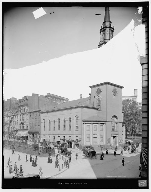 Park Street Church, Boston, Mass.