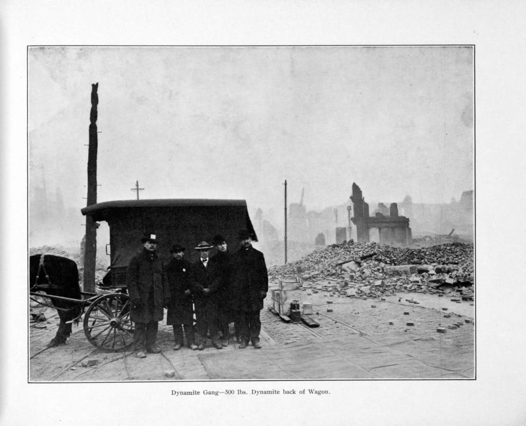 Photographic views and description of the great Baltimore $175,000,000 fire, February 7, 8, 9, 1904.
