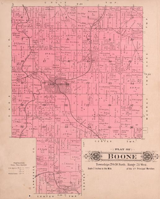 Plat book of Greene County, Missouri : compiled from county records and actual surveys /