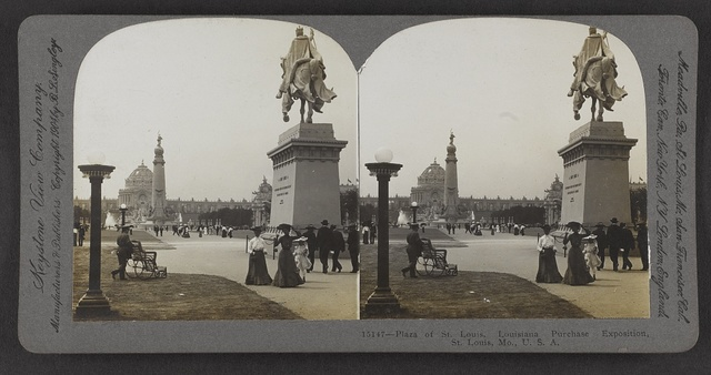 Plaza of St. Louis, Louisiana Purchase Exposition, St. Louis, Mo., U. S. A.