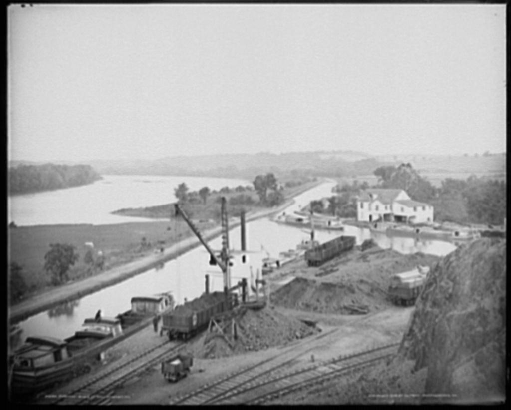 Potomac River at Williamsport, Md.