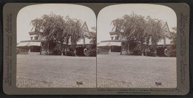 President Roosevelt's summer home at Sagamore Hill, Oyster Bay, N.Y.