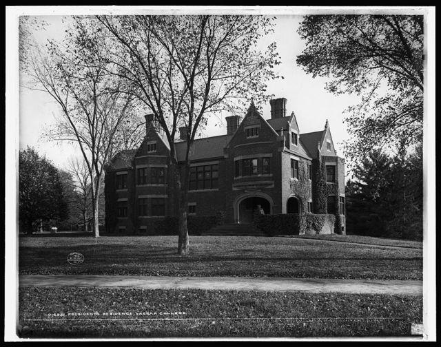 President's residence, Vassar College