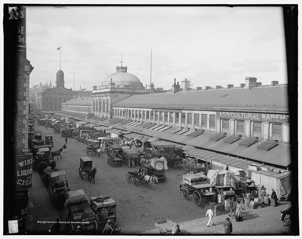 Quincy Market, Boston, Mass.