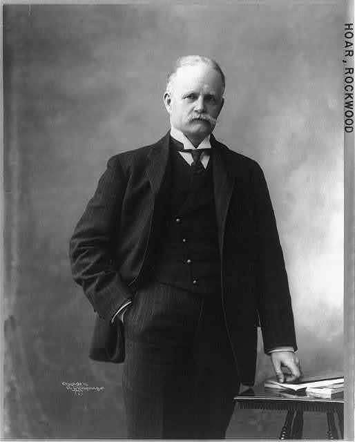 Rockwood Hoar, 1855-1906